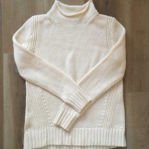 J. Crew Rollneck Cotton Sweater